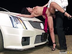 Ava Dalush is a sex pro and heres the proof in hardcore sex action with Ramon
