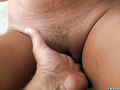 Rocco Siffredi is one hard-cocked dude who loves fucking in her cornhole after cock sucking