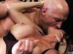 Karen Kougar is good at love torpedo sucking and loves it