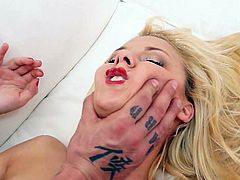 Rob Diesel is a photographer who takes advantage of the hot girls who want to take some pictures. Today his muse was so horny that she started to eat his cock before no time.