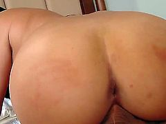 Missy Martinez is a babe with big tits who is about to get fucked real hard in many different positions, just like she deserves for being a naughty little Latina hoe.