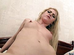 Spice R getting her eager back porch banged by Franco Roccaforte after she takes it in her mouth
