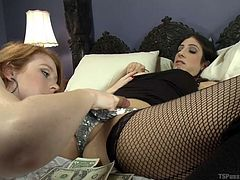 brenda and nathalie fuck each other hard