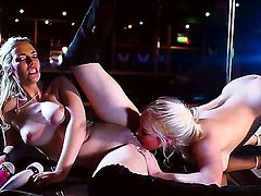 Didnt you ever want to see two chicks rubbing the shit out of each others cunts with a vibrator Watch these hotties, Sophia Knight and Victoria Summers, do it like pros.