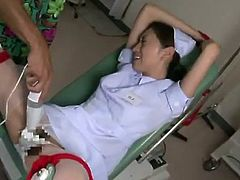 Hot Yuri Kasiwa Having Loony sex in Doctor's Office