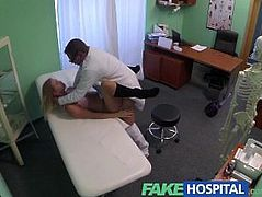 FakeHospital Cute blonde teen with soft young natural body