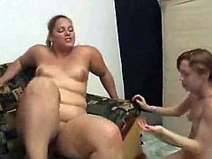 Horny Fat BBW Latina getting her pussy licked by her BFF-2