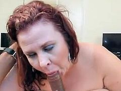 Aged Big-Titted heavy nymph Lynn Dresses Up For and drills BBC