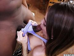 Riley Reid gets a big cock