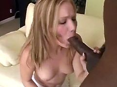 We have this Sleaze mixed race encounter between this darky stud A Dirty stockinged blonde. Check out as the kick it off as out White haired puss licks that oustanding darky penis and sits onto onto top of it like A champ afterwards