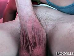 Babes in college sucking and fucking dicks