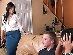 Chicana with phat butt cant get enough and licks Stephani Morettis again
