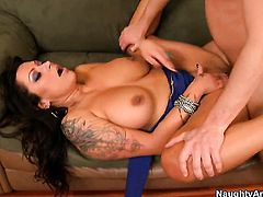 Nikita Denise with huge tits is a slut who knows what to do with Dane Cross s erection