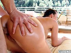 Cindy Dollar loves getting her face stuffed by horny fellow