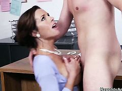Veronica Avluv finds her pussy full of love juice after fucking with Dane Cross