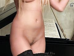 Donna Bell dreaming about real sex with real man with her fingers in her snatch