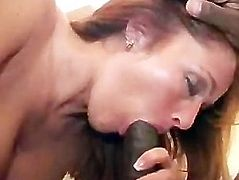 Wife in black basque fucked by BBC