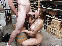 Jordan Ash gets his always hard schlong used by Yurizan Beltran with massive melons and smooth snatch