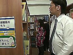 Perv Gets Lucky At The Library