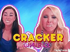 Taylor Vixen Cracker Eating Competition