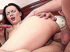 Teens Analyzed - First anal with double fuck