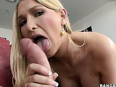 Blake Rose fucks like a pro in anal action