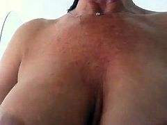 Sexy Mature Woman In The Shower