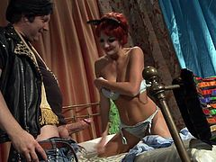 Best pornstars are known for filming some porn parodies from time to time. This time, its the Flinstones with stunning Alektra Blue as Freds wife. Yabba dabba doo, mother fuckers!!!
