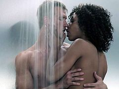 Misty Stone only wanted some sex in shower. Lately, that is the only thing that can satisfy her orgasm craving. Nevertheless, this guy handles that black twat with care and skill