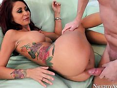 Mark Wood has a nice time banging Oriental Monique Alexander