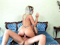 Adriana Russo loves the way hot guy plugs her cunt