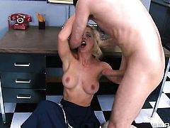 James Deen makes his sturdy cock disappear in eye-popping Cherie Devilles snatch