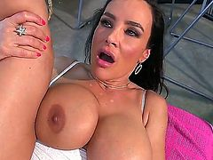 The woman, the legend, lisa ann porn! Her cock handling skills are well known and she and her glorious pussy have been around for quite some time. This time, she lets her ass do the job