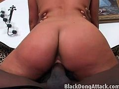 Busty Phoenix Marie rides BBC with her tight cunt