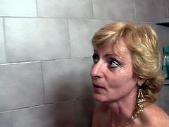 His parents fuck her inside A bathroom