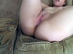 Tight Kayla gets triple creampie