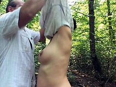 pregnant fucked in the woods