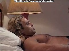 Leena, Asia Carrera, Tom Byron in vintage sex video