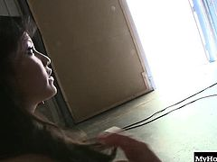 Lana Violet is an Asian slut who cant get enough cock in her