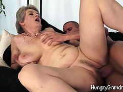 Nice Young Cock For Granny