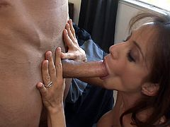 Fit stud screws his girl rough and cums on her belly in a close up shoot
