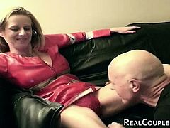 Kinky older fuck buddies let the cameraman join in