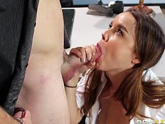 horny student wants to play with the severe teacher
