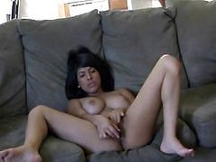 Hot Busty Layla Rose Rubs And Toys Wet Pussy
