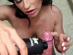 Visit official Club Tug's HomepageClaudia Valentine sure feels amazin with this warm dong sliding her throat, choking her well in a mind blowing POV blowjob