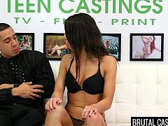 shy carly marie gets mouth fucked