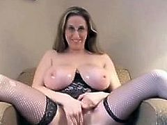 From LOCALMILF.INFO Big Titted Four Eyed Cunt Kitty Rides And Slurps