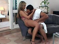 Big ass honey has her butthole fucked hard & she's left gaping open