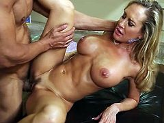 Bigtitted mom id like to fuck Brandi Love screws ram dong