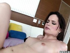 Jenna J. Ross with bubbly ass opens her legs to be tongue fucked by lesbian Samantha Ryan
